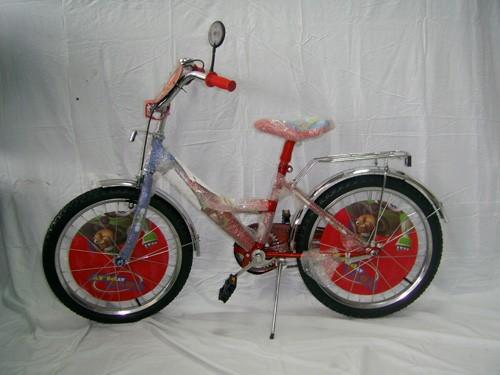 Детский двухколесный велосипед Mustang, диаметр колес